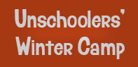 Unschoolers winter camp
